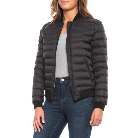 Image of Canadian Designer Glenda Down Bomber Jacke - 700+ Fill Power (For Women)