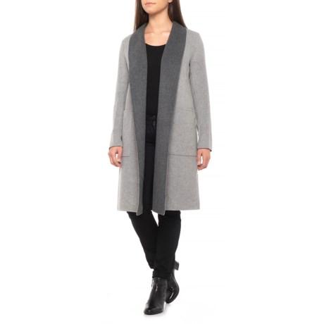Image of Canadian Designer Isadora Wool Wrap Coat (For Women)