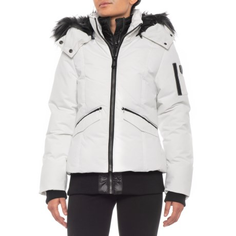 Image of Canadian Designer Maple Bomber Jacket - Insulated (For Women)