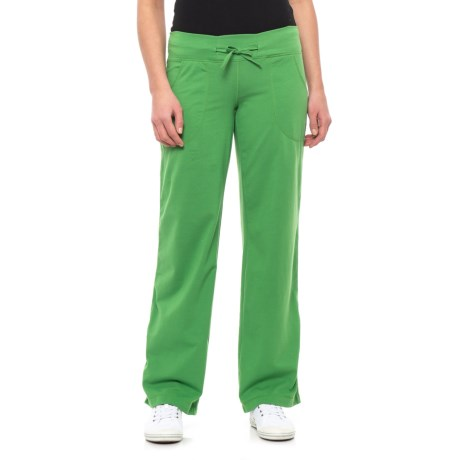 Image of Canadian Designer Travel Green Johanna Pants (For Women)
