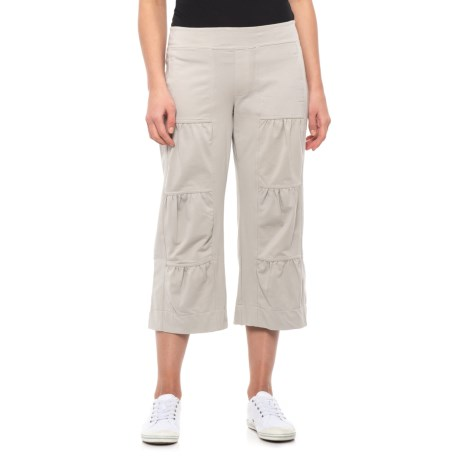 Image of Canadian Designer Vintage Stone Ain?t Seen Nothing Yet Capris (For Women)