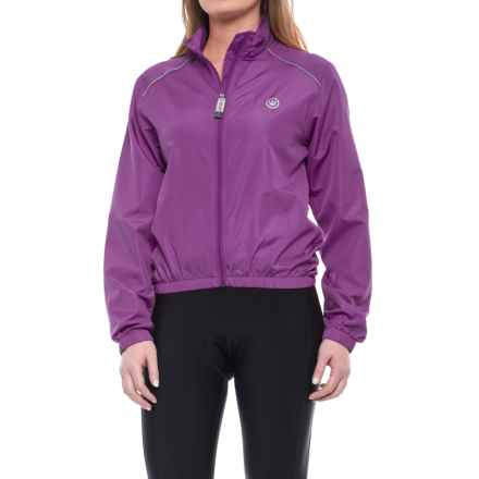 Canari 3-Season Cycling Jacket (For Women) in Imperial Purple - Closeouts