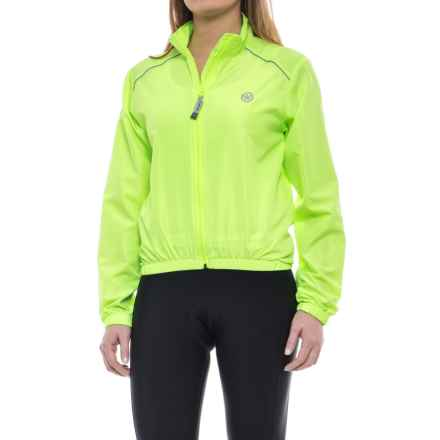 Canari 3-Season Cycling Jacket (For Women) in Killer Yellow - Closeouts