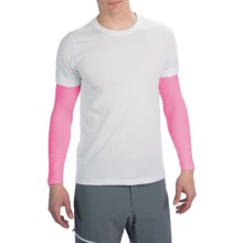 Canari Arm Warmers - UPF 25 (For Men) in Pink - Closeouts