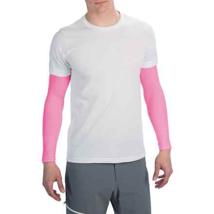 Canari Arm Warmers - UPF 25 in Pink - Closeouts