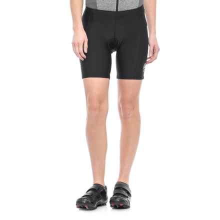 Canari Ascent Cycling Shorts (For Women) in Black - Closeouts