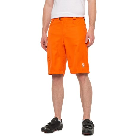 77b74a7cd9f Canari Atlas Gel Baggy Bike Shorts - Detachable Liner (For Men) in Orange