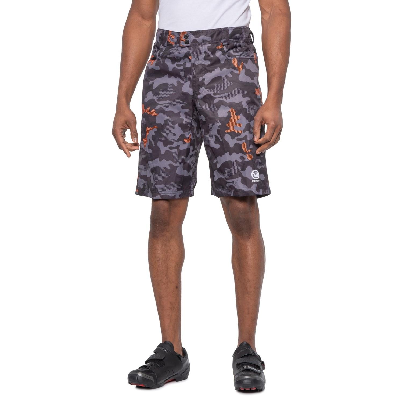 CANARI Mens Atlas Gel Baggy Cycling Shorts