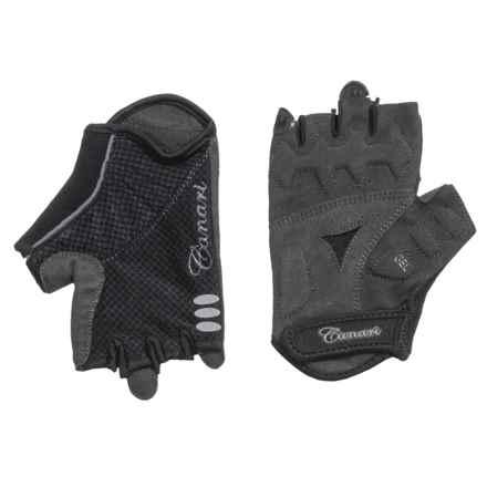 Canari Aurora Bike Gloves - Fingerless (For Women) in Black - Closeouts