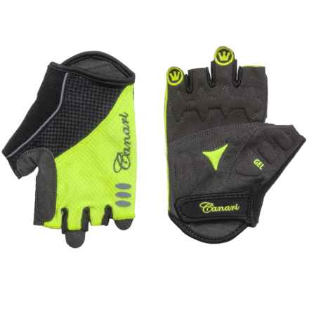 Canari Aurora Bike Gloves - Fingerless (For Women) in Killer Yellow - Closeouts