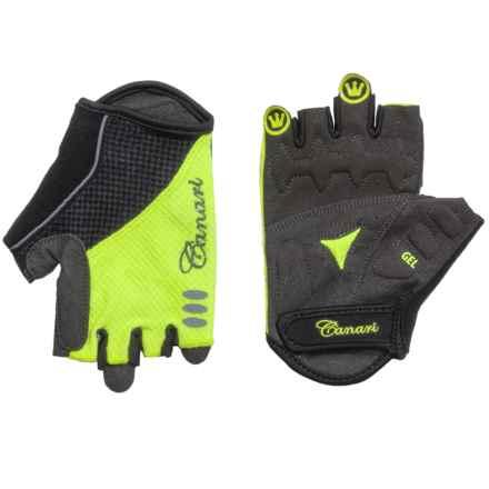 Canari Aurora Bike Gloves - Fingerless (For Women) in Killer Yellow - Closeouts