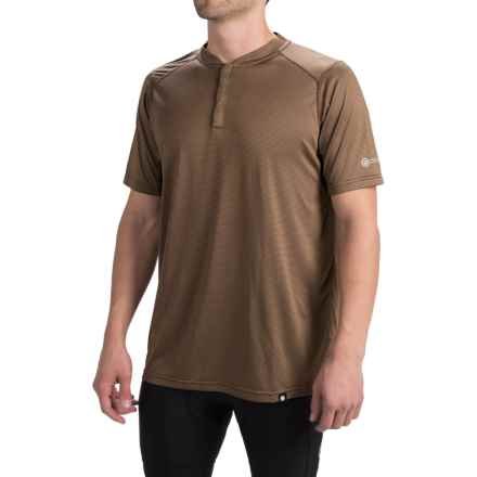 Canari Bernies Cycling Jersey - Snap Neck, Short Sleeve (For Men) in Durango - Closeouts