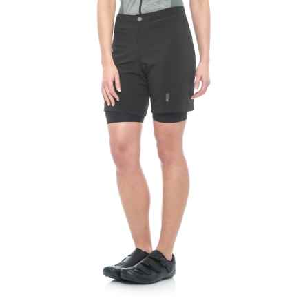 Canari Betty Baggy Cycling Shorts - Removable Liner (For Women) in Black - Closeouts