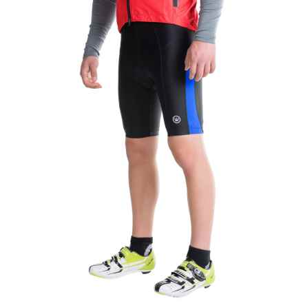 Canari Blade Gel Bike Shorts (For Men) in Azure Blue - Closeouts
