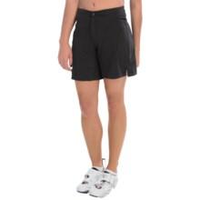 Canari Boulder Gel Baggie Bike Shorts (For Women) in Black - Closeouts