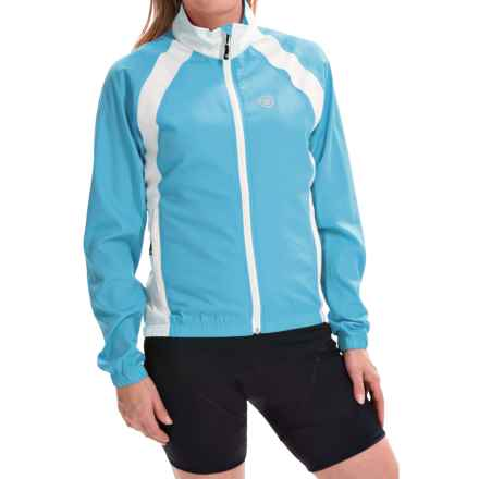 Canari Breakaway Cycling Jacket (For Women) in Freshwater - Closeouts