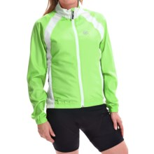 Canari Breakaway Cycling Jacket (For Women) in Killer Yellow - Closeouts
