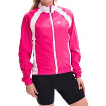 Canari Breakaway Cycling Jacket (For Women) in Panther Pink - Closeouts