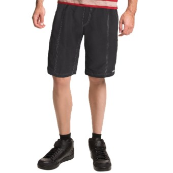Canari Canyon Gel Baggy Cycling Shorts (For Men) in Black