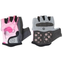 Canari Champagne Cycling Gloves - Fingerless (For Women) in Cotton Candy - Closeouts