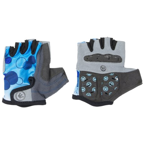 Canari Champagne Cycling Gloves - Fingerless (For Women) in Fiji Blue