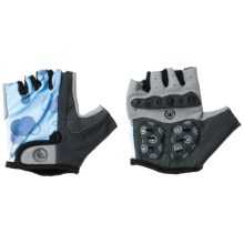 Canari Champagne Cycling Gloves - Fingerless (For Women) in Morning Sky - Closeouts