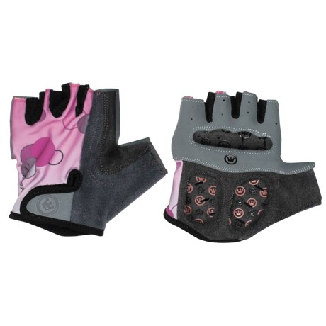 Canari Champagne Cycling Gloves - Fingerless (For Women) in Rose