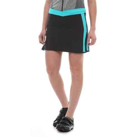 Canari Chic Cycling Skort (For Women) in Aqua - Closeouts