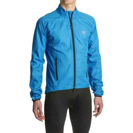 Canari Coaster Shell Cycling Jacket (For Men) in Azure Blue - Closeouts