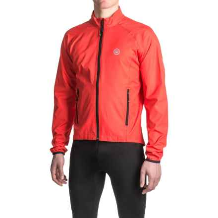 Canari Coaster Shell Cycling Jacket (For Men) in Radar Red - Closeouts