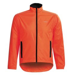 Canari Convertible Cycling Jacket - Windproof Razor Eclipse  (For Men) in Breakaway Blue