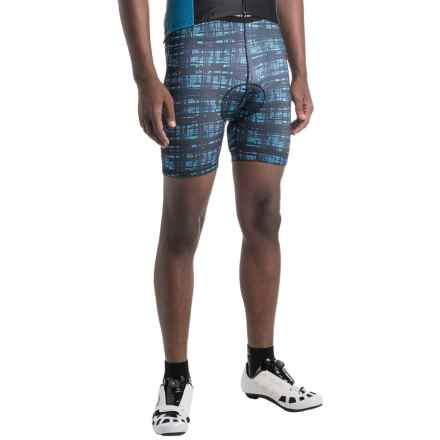 Canari Crazy Echelon Cycling Liner Shorts (For Men) in Blue Hatch - Closeouts