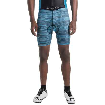 Canari Crazy Echelon Cycling Liner Shorts (For Men) in Blue Heather - Closeouts
