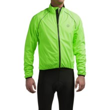 Canari Deluge Cycling Jacket (For Men) in Killer Yellow - Closeouts