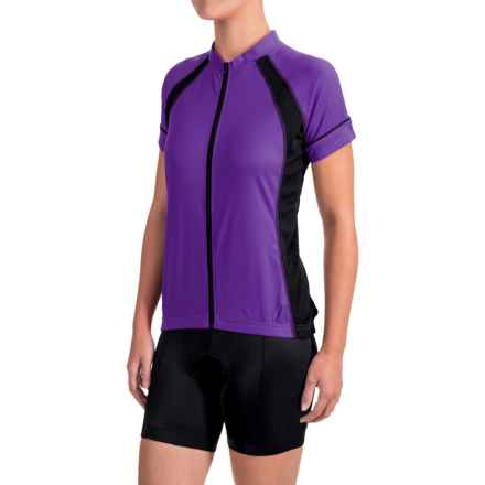 Canari Dream Cycling Jersey - Short Sleeve (For Women) in Imperial Purple - Closeouts