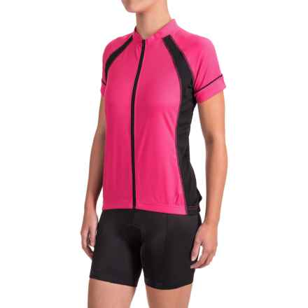 Canari Dream Cycling Jersey - Short Sleeve (For Women) in Panther Pink - Closeouts