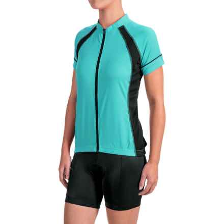 Canari Dream Cycling Jersey - Short Sleeve (For Women) in Robins Egg Blue - Closeouts