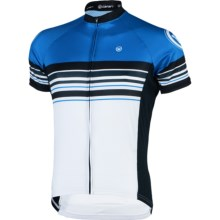 Canari Eckleburg Cycling Jersey - Short Sleeve (For Men) in Breakaway Blue - Closeouts