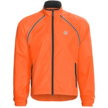 Canari Eclipse 2 Convertible Cycling Jacket - Windproof (For Men) in Solar Orange - Closeouts