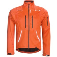 Canari Everest Cycling Jacket - Soft Shell (For Men) in Lava - Closeouts