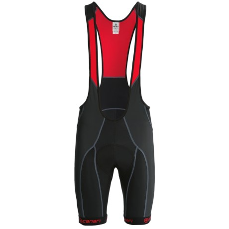 Canari Evolution Cycling Bib Shorts (For Men) in Black