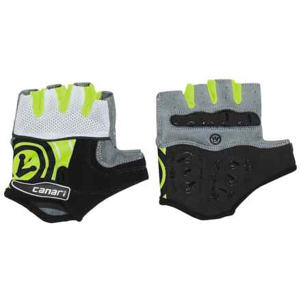 Canari Evolution Gel Bike Gloves (For Men) in Killer Yellow - Closeouts