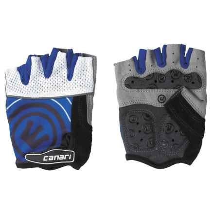 Canari Evolution Gel Bike Gloves (For Men) in Sapphire - Closeouts