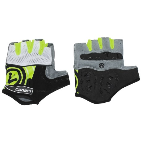 Canari Evolution Gel Cycling Gloves (For Men) in White