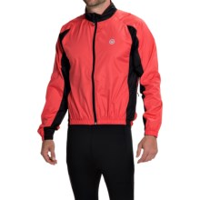 Canari Flash Cycling Jacket - Full Zip (For Men) in Radar Red - Closeouts