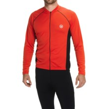 Canari Flash Cycling Jersey - Full Zip, Long Sleeve (For Men) in Radar Red - Closeouts