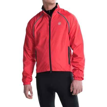 Canari Flash Transition Cycling Jacket (For Men) in Radar Red - Closeouts