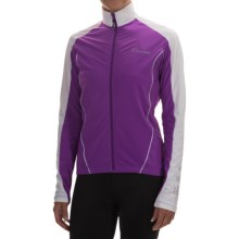 Canari Flurry Cycling Jersey - Long Sleeve (For Women) in Imperial Purple - Closeouts