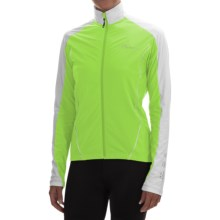 Canari Flurry Cycling Jersey - Long Sleeve (For Women) in Killer Yellow - Closeouts
