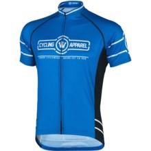 Canari Gatsby Cycling Jersey - Short Sleeve (For Men) in Breakaway Blue - Closeouts